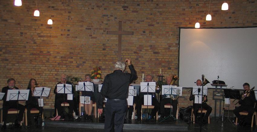 Der Kreisposaunenchor bei einem Konzert in Wissen (Foto: privat)
