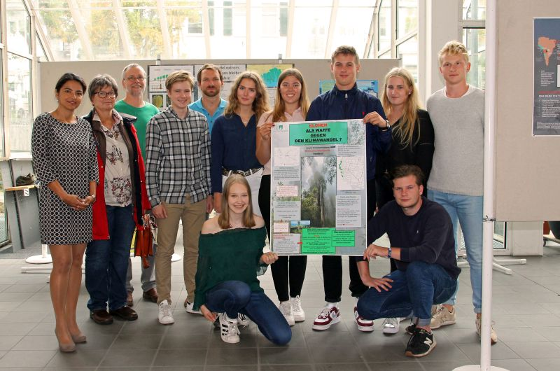 Ausstellung: Schüler beschäftigten sich mit Klimawandel