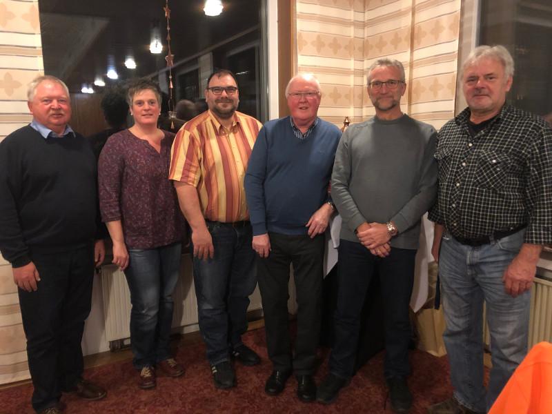 Ratsmitglieder aus dem Ortsgemeinderat Pracht verabschiedet