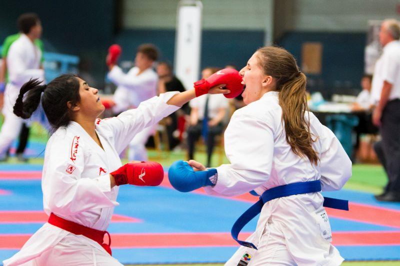 Karate: Priti Pelia zweifache Deutsche Vize-Meisterin