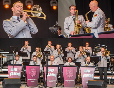 �Swinging Fingers� mit Big Band des Heeresmusikkorps Koblenz