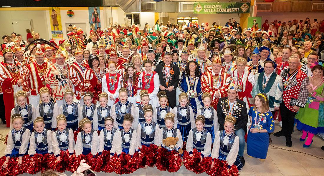 10. CDU-Karnevalsempfang mit Erwin R�ddel