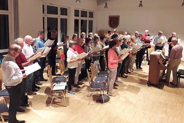 Waldbreitbacher Kirchenchor probt ganz trendy digital