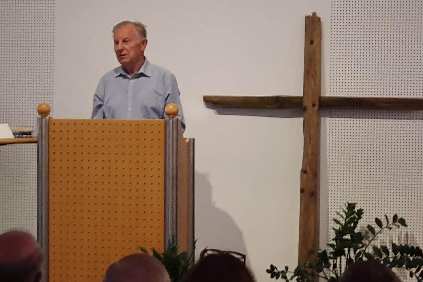 Vortragsreihe mit Dr. Werner Gitt: Vom Denken zum Glauben