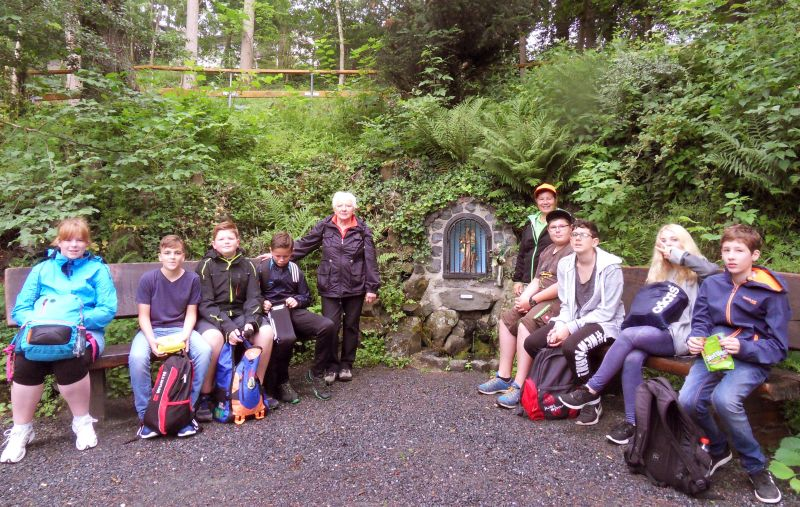 Westerwaldverein Bad Marienberg: Projektarbeit an Realschule Plus
