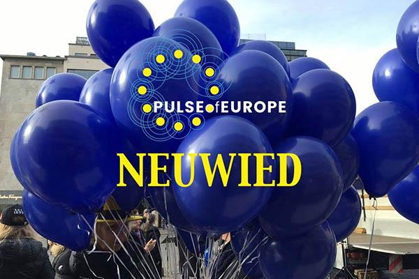 """Pulse of Europe"" - Kundgebung am 23. Juni in Neuwied"