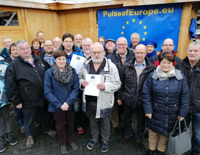 Letzte Demo Pulse of Europe. Foto: Veranstalter