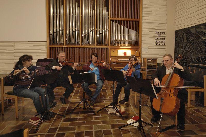Quartett der Cappella Taboris. Foto: privat