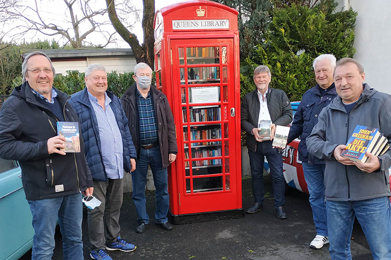 Vettelschoß hat nun Bücherei in der Telefonzelle