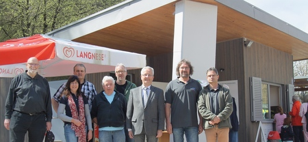 Neuer Kiosk am Quendelberg eröffnet
