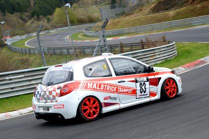 H&S-Racing-Duo Frank Höhner und Oliver Schumacher auf Rang 2