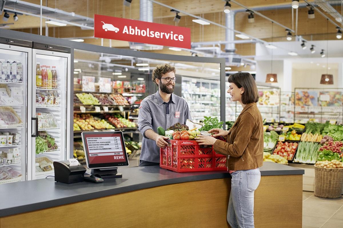 REWE Antje Holzschuh in Neustadt-Wied startet Abholservice