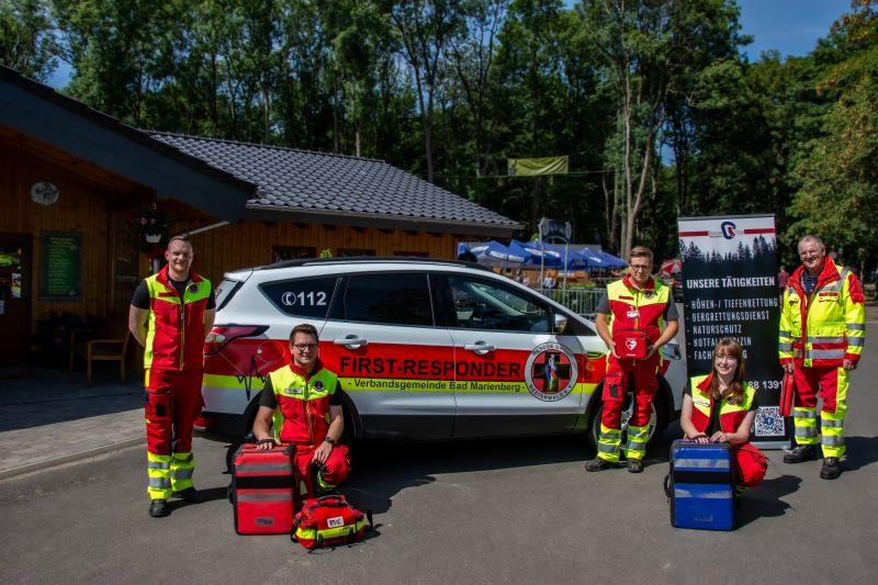 """""""RescueGroup Westerwald e.V."""" rettet künftig Leben in der VG Bad Marienberg"""