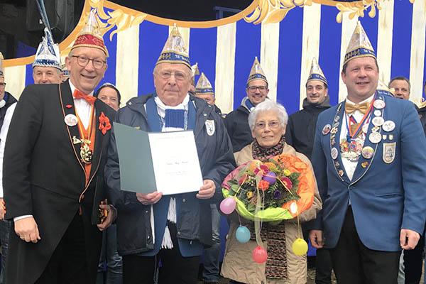 Aloys Wallau erhielt höchste RKK-Auszeichnung
