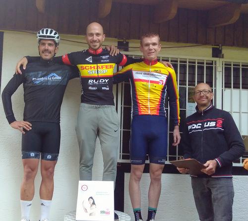 Christian Noll gewinnt das Bergzeitfahren zum Druidenstein