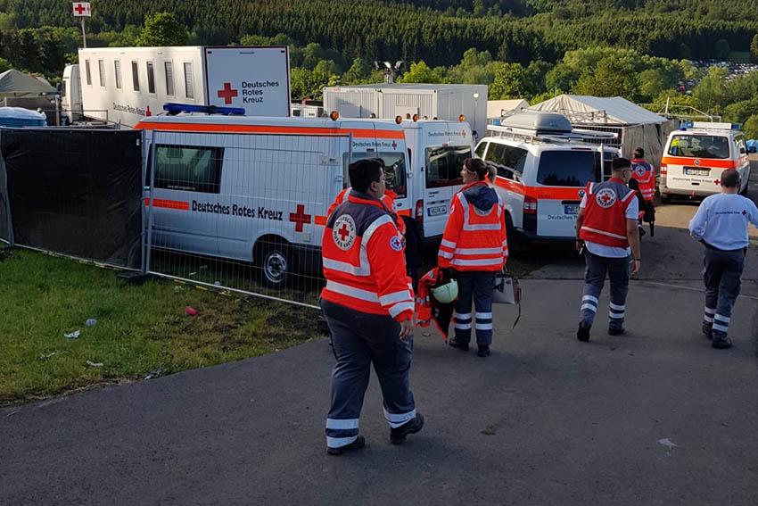 DRK Waldbreitbach wieder bei Rock am Ring im Einsatz