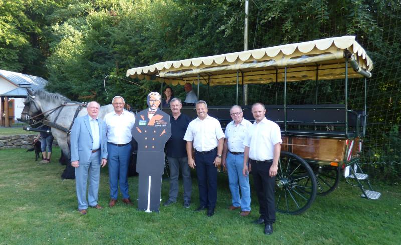 Historische Raiffeisen-Kutschfahrt: Vorbereitungen laufen