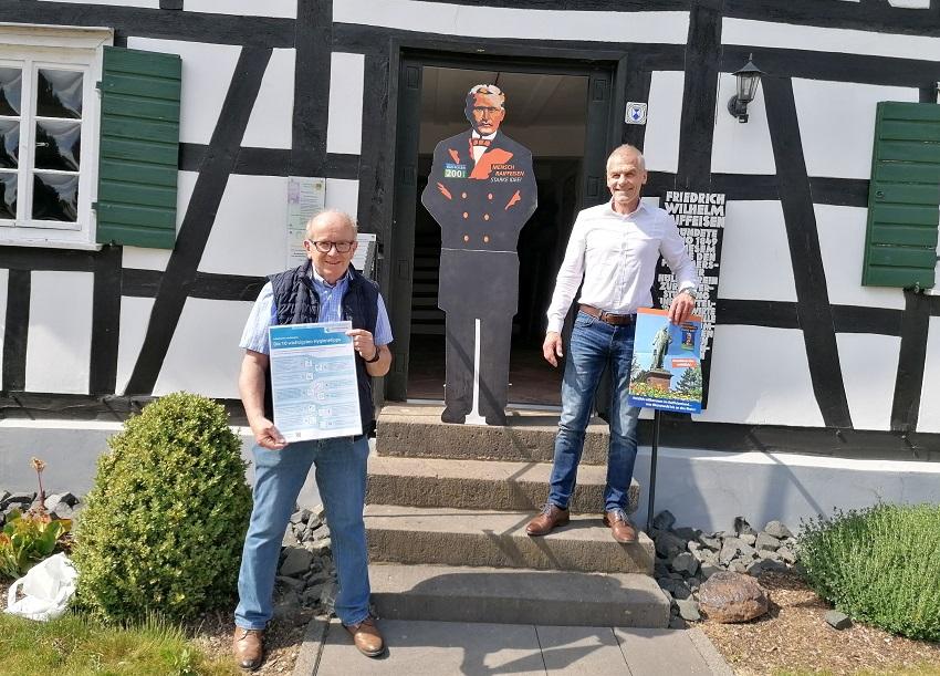 Raiffeisenhaus in Flammersfeld öffnet wieder seine Pforten