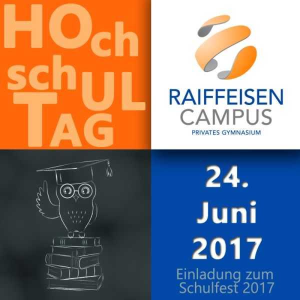 Raiffeisen-Campus Dernbach lädt zum Schulfest