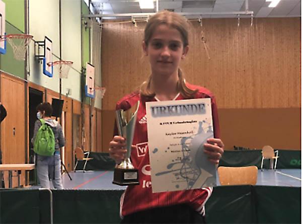 Erfolgreicher Tischtennis-Nachwuchses des SV Windhagen