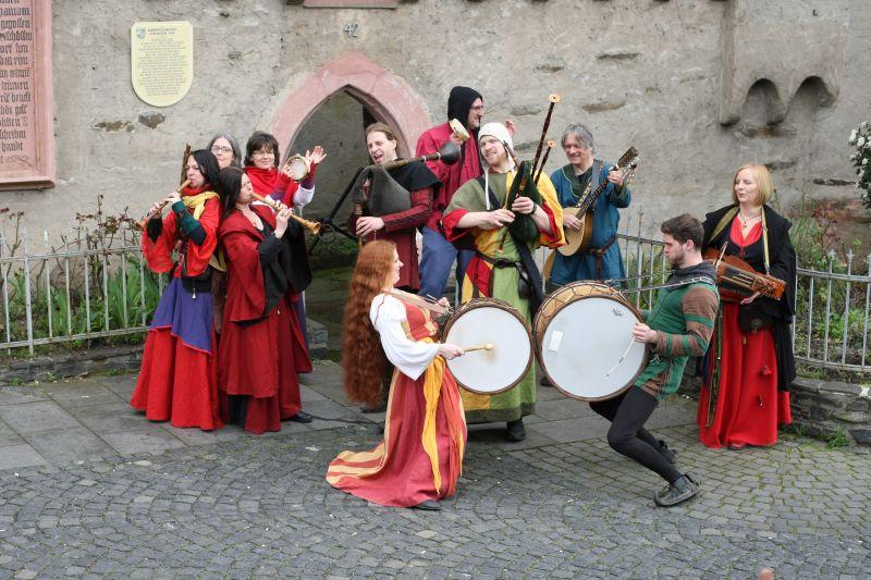Spielleut Ranunculus entführen Gäste in Luthers Zeit