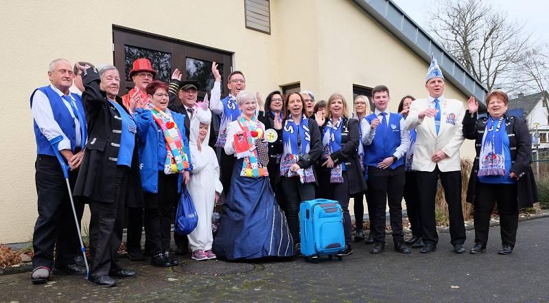 """Ein dreifach """"Hürwels Binanner"""": Karneval hält Einzug in Hövels"""