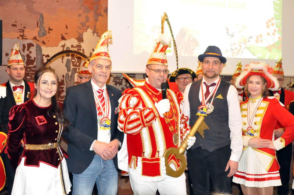 VG Altenkirchen-Flammersfeld läutete die tollen Tage ein