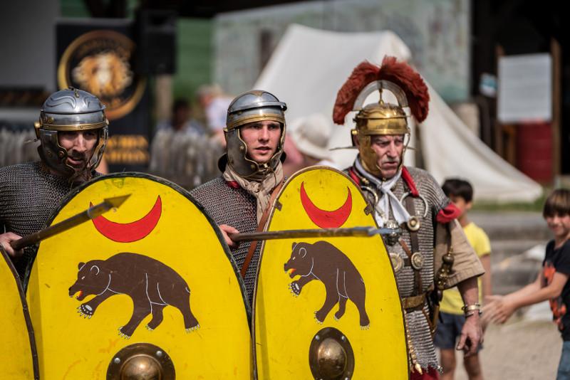 Begegnung der Kulturen: Römer, Kelten und Germanen