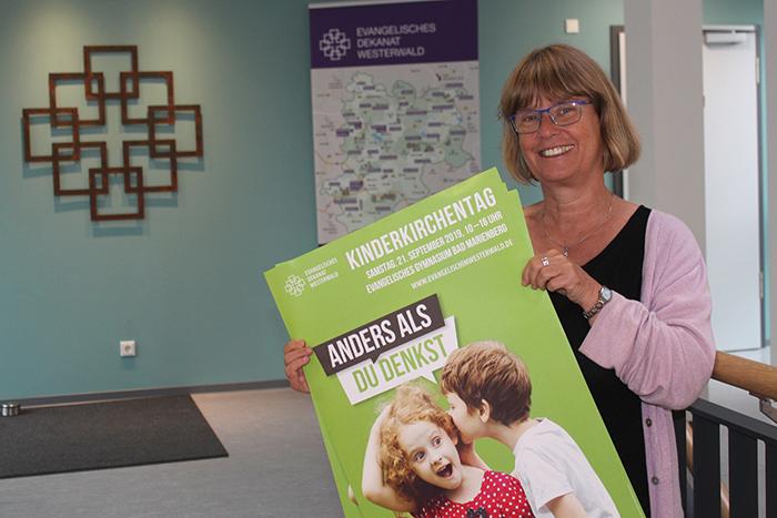 Regina Kehr, Kindergottesdienstbeauftragte des Evangelischen Dekanats Westerwald. Foto: privat