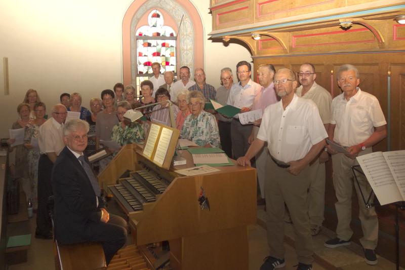 Kirchweihgottesdienst als musikalischer Hochgenuss