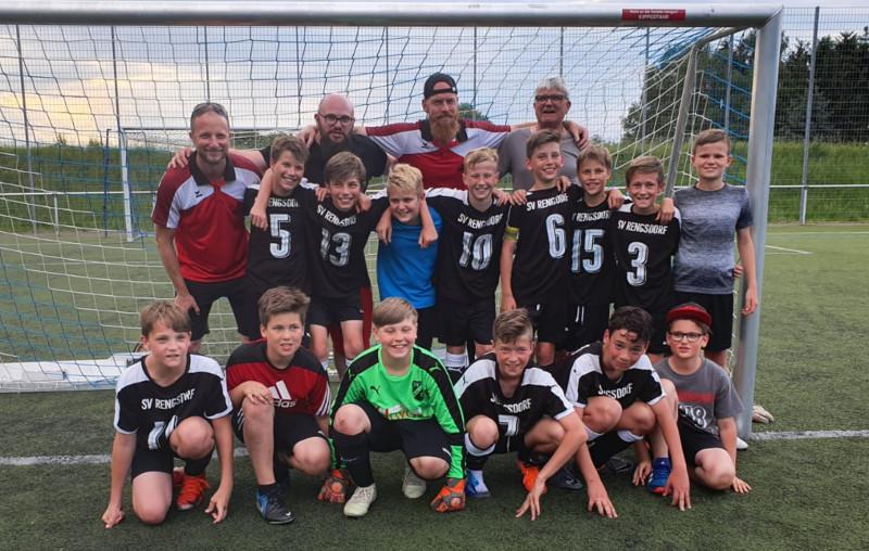 Die D-Jugend-Jungs der JSG Rengsdorf/Melsbach sind in die Rheinland-Liga aufgestiegen. Foto: Verein