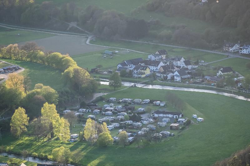 Auch Campingplatz Wiedschleife in Roßbach verbuchte mehr Besucher. Foto: Andreas Pacek