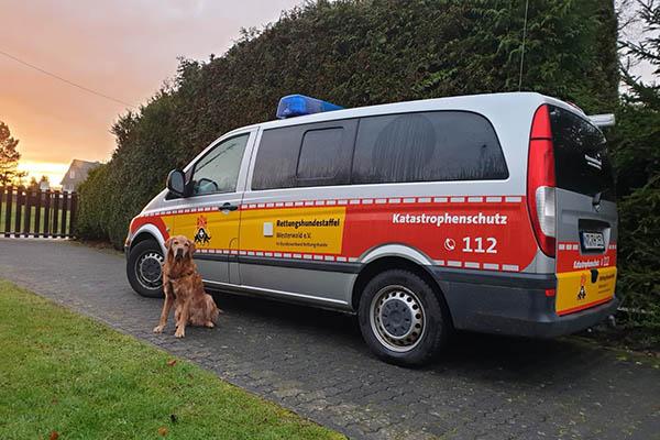 Die Rettungshundestaffel hilft - helfen Sie mit