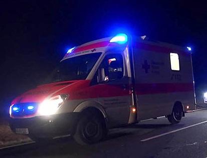 Aggressiver 19-Jähriger randaliert in Rettungswagen