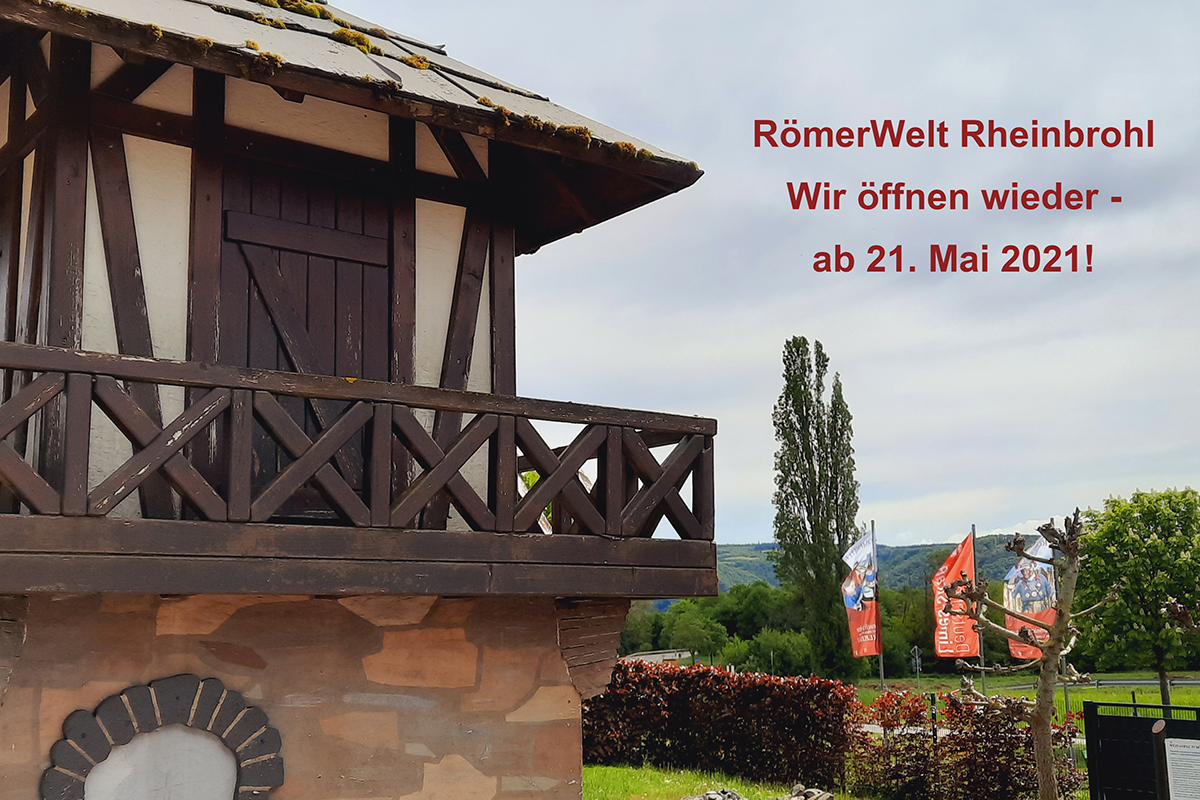 Erlebnismuseum Römer-Welt öffnet am 21. Mai wieder
