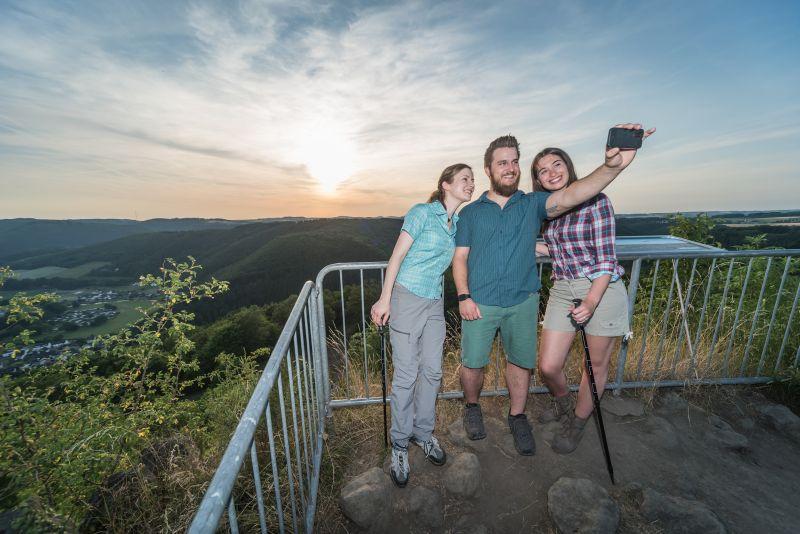 """Auf der Kleinen Wäller """"Häubchen-Tour"""" mit Panoramablick"""