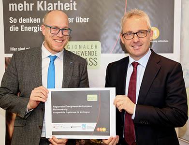 Energiewende stößt auf hohe Akzeptanz