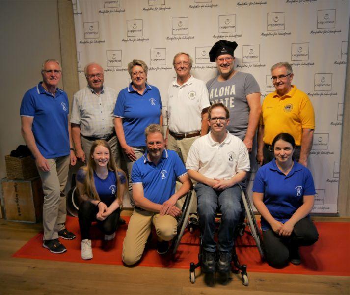 Lions Club Rhein-Wied fördert Rollstuhltennis in Windhagen