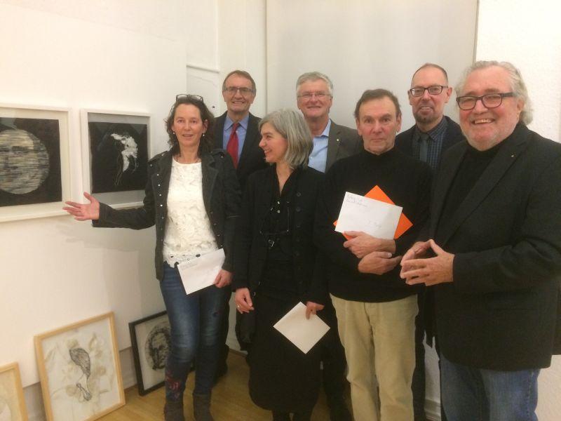 Rotarischer Kunstpreis 2019 im Roentgen-Museum Neuwied
