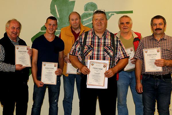 Bürgerschützen Rotterheide erringen 15 Landesmeistertitel