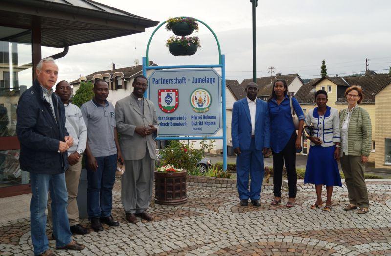 Ruandische Delegation in der VG Ransbach-Baumbach