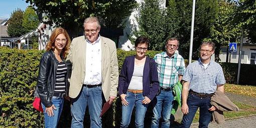 �Lokalpolitisch markante Stellen� in Weitefeld besucht