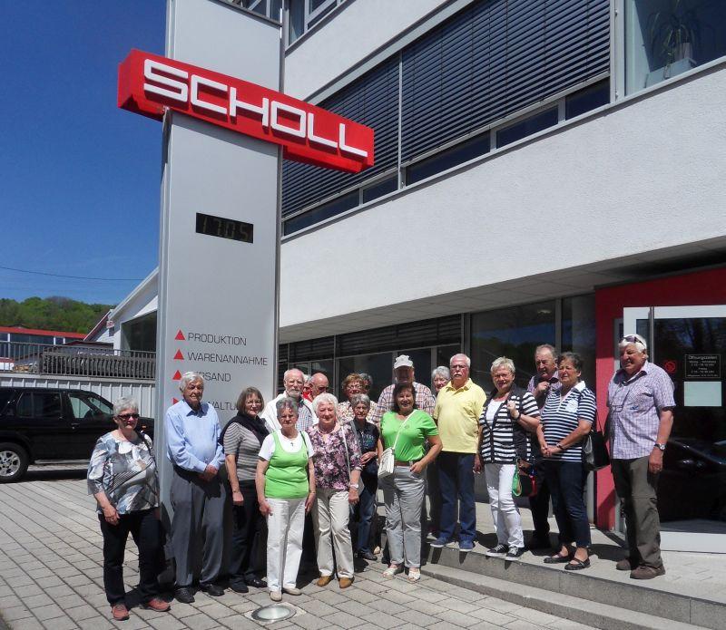 Westerwaldverein Bad Marienberg wanderte in Langenbacher Betrieb