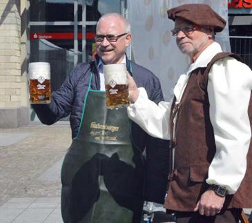 Stadtfest Altenkirchen bei strahlendem Sonnenschein gestartet