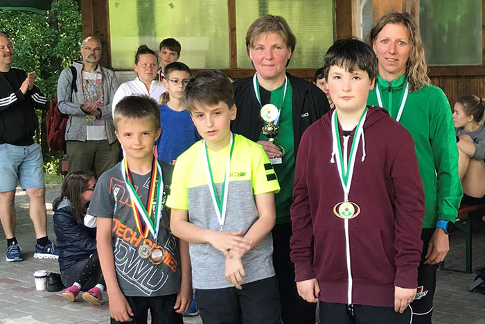 Raubacher Sommerbiathleten beim Heimwettkampf erfolgreich