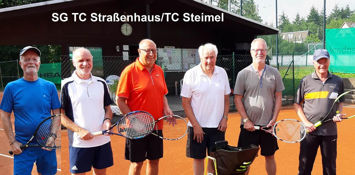 SG TC Straßenhaus/TC Steimel Herren 65 Meister in B-Klasse