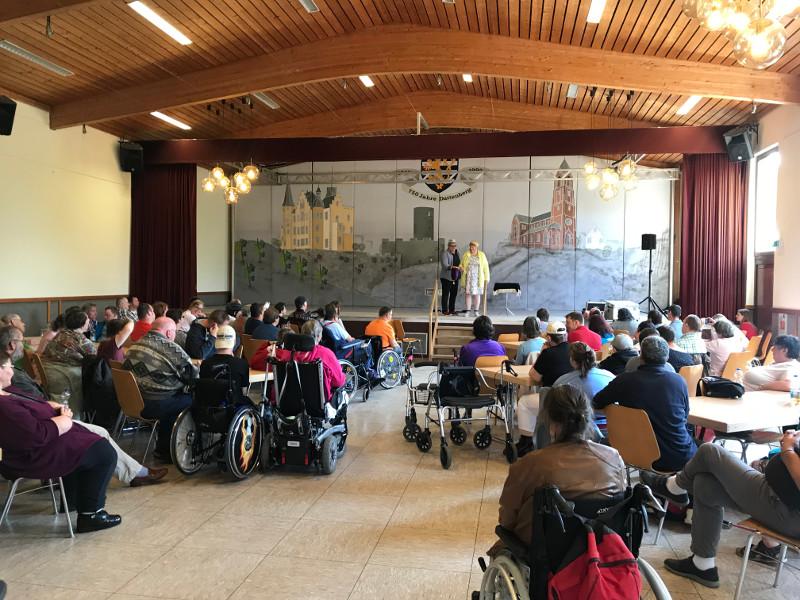 Werkstatt für Menschen mit Behinderung feierte 25. Geburtstag