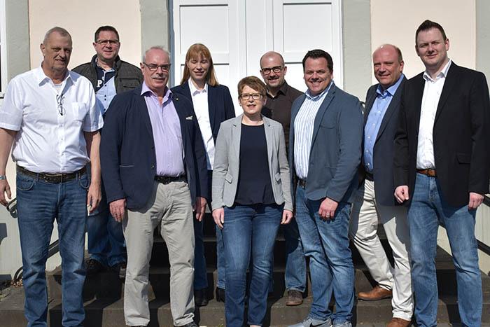 Dr. Tanja Machalet führt Liste VG Wallmerod an