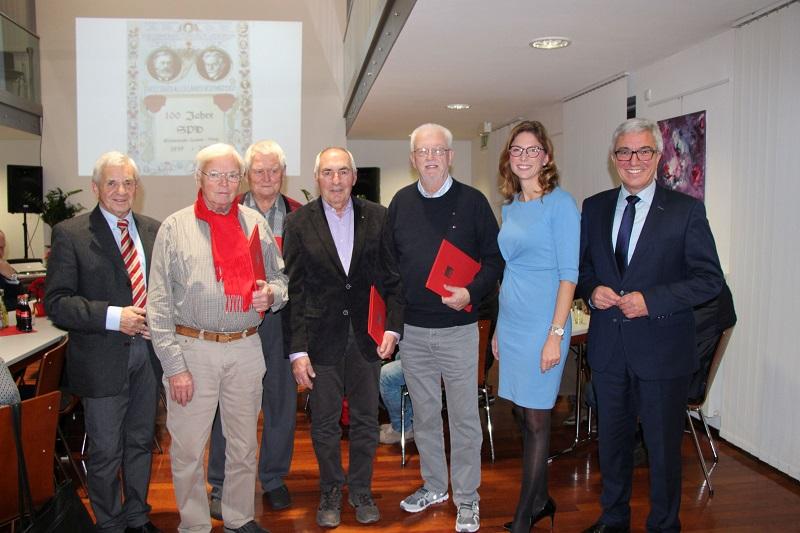 Spannender Blick auf 100 Jahre Sozialdemokratie in Hamm