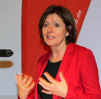 Malu Dreyer beim Jahresempfang der SPD Neunkirchen